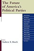 The future of America's political parties by…
