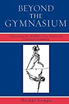 Beyond the Gymnasium: Educating the…