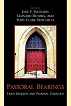 Pastoral Bearings: Lived Religion and…