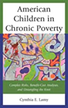 American Children in Chronic Poverty:…