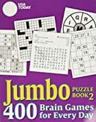 USA TODAY Jumbo Puzzle Book 2: 400 Brain…