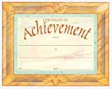 School Specialty Publishing: Certificate of Achievement Fit-in-a-Frame Award