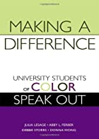 Making a Difference: University Students of…