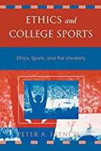 Ethics and College Sports: Ethics, Sports,…