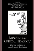 Reinventing Critical Pedagogy: Widening the…