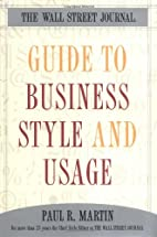 The Wall Street Journal Guide to Business…