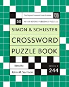 Simon and Schuster Crossword Puzzle Book…