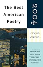 The Best American Poetry 2004 by Lyn…