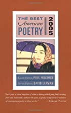 The Best American Poetry 2005 (Best American…
