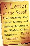 Sacks, Rabbi Jonathan: A Letter in the Scroll: Understanding Our Jewish Identity and Exploring the Legacy of the World&#39;s Oldest Religion