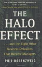 The Halo Effect: ... and the Eight Other…