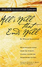 All's Well That Ends Well by William…