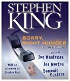 King, Stephen: Sorry, Right Number: And Other Stories