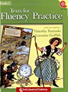 Texts for Fluency Practice, Grade 1 by…