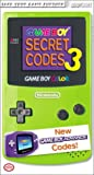 BradyGames: Game Boy Secret Codes 3 Pocket Guide