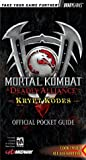 Bradygames: Mortal Kombat Deadly Alliance Official Krypt Kodes: Deadly Alliance  Krypt Kodes Official Pocket Guide