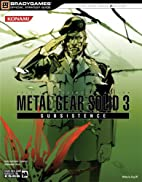 Metal Gear Solid 3 - Subsistence: BradyGames…