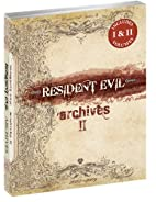 Resident Evil Archives I and II Bundle by…