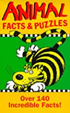 Animal Facts and Puzzles (Puzzle Books) by…