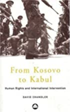 From Kosovo to Kabul: Human Rights and…