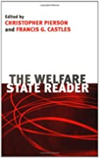The Welfare State: A Reader by Christopher…