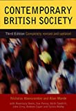 Warde, Alan: Contemporary British Society