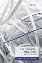 Contemporary Metaethics: An Introduction by…
