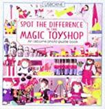Roxbee-Cox, Phil: The Magic Toyshop (Usborne Picture Puzzles, What's the Difference?)