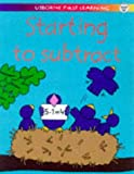 Tyler, Jenny: Starting to Subtract (Usborne First Learning)