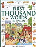 Amery, Heather: The Usborne 1st 1000 Words in Italian