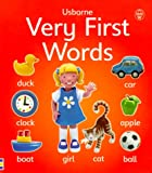 Litchfield, Jo: Very First Words (Usborne First Words Board Books)