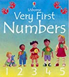 Brooks, Felicity: Very First Numbers Board Book (Usborne Everyday Words)