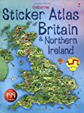 Turnbull, S.R.: Usborne Sticker Atlas of Britain and Ireland (French Edition)