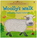Phil Roxbee Cox: Woolly's Walk (Touchy-feely Farmyard Tales)