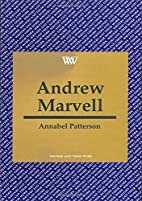 Andrew Marvell by Annabel M. Patterson
