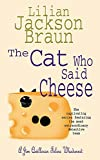 Braun, Lilian Jackson: The Cat Who Said Cheese