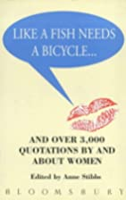 Like a Fish Needs a Bicycle and Over 3000…