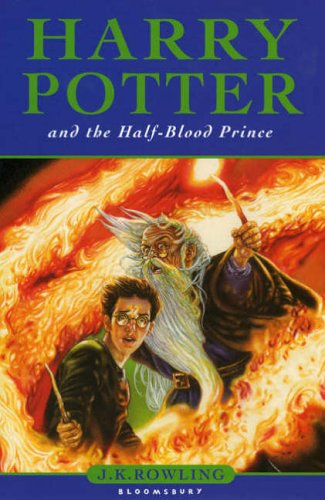 Cover of Harry Potter and the Half-Blood Prince by J K Rowling