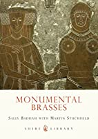 Monumental brasses by Sally Badham