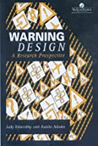 Warning Design: A Research Prospective by…