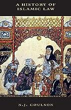 A History of Islamic Law (Islamic Surveys)…