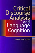 Critical Discourse Analysis and Language…