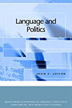 Language and Politics (Edinburgh Textbooks…