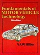 Fundamentals of Motor Vehicle Technology by…