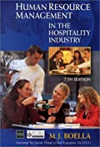 Human Resource Management in the Hospitality…