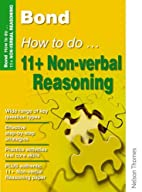 Bond How to Do 11+ Non-verbal Reasoning…