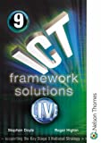 Doyle, Stephen: ICT Framework Solutions Live: Student CD-ROM Year 9
