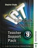Doyle, Stephen: ICT Framework Solutions: Teachers Support Pack Year 9
