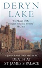 Death at St. James's Palace by Deryn Lake