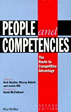 People and competencies: The route to…